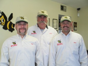 These guys are ready to solve your bee problem